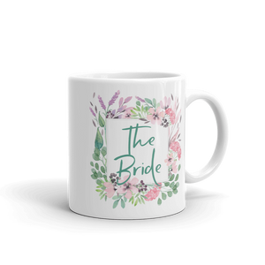 Gift Mug for the Bride | Lilac & Blush Exclusive to Oh, Yes! Designs 11oz
