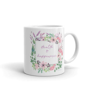 Health & Happiness Mug | Inspiration Every Day Exclusive to Oh, Yes! Designs 11oz