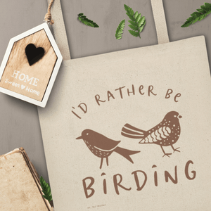 I'd Rather Be Birding | Tote bag Exclusive to Oh, Yes! Designs