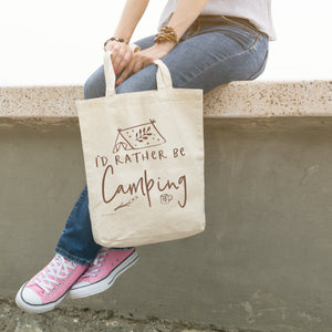 I'd Rather Be Camping | Tote bag Exclusive to Oh, Yes! Designs