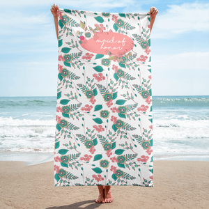 Maid of Honor Beach Towel Exclusive to Oh, Yes! Designs
