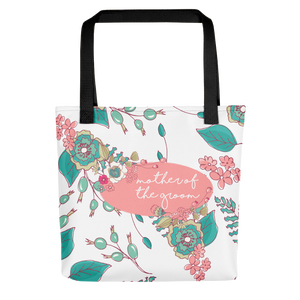 Mother of Groom Tote Bag | Joyful Flowers Exclusive to Oh, Yes! Designs