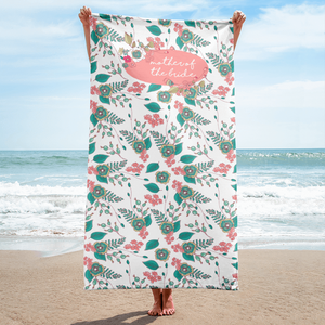 Mother of the Bride Beach Towel Exclusive to Oh, Yes! Designs