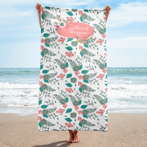 Mother of the Groom Beach Towel Exclusive to Oh, Yes! Designs