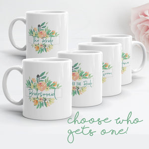 Mug for Bridesmaids | Italian Garden Exclusive to Oh, Yes! Designs
