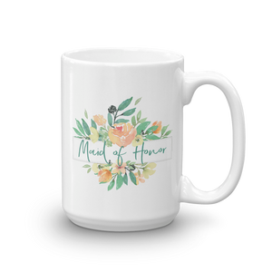 Mug for Maid of Honor | Italian Garden Exclusive to Oh, Yes! Designs 15oz