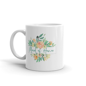 Mug for Maid of Honor | Italian Garden Exclusive to Oh, Yes! Designs