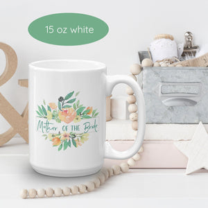 Mug for Mother of Bride | Italian Garden Exclusive to Oh, Yes! Designs