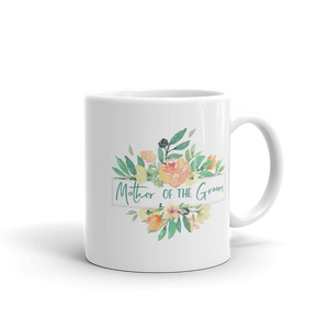 Mug for Mother of Groom | Italian Garden Exclusive to Oh, Yes! Designs 11oz
