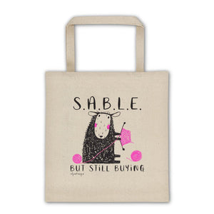 S.A.B.L.E. | Tote bag Exclusive to Oh, Yes! Designs
