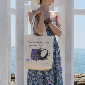 Violet Yarn | Tote bag Exclusive to Oh, Yes! Designs