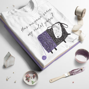 Violet Yarn | Unisex T-Shirt Exclusive to Oh, Yes! Designs