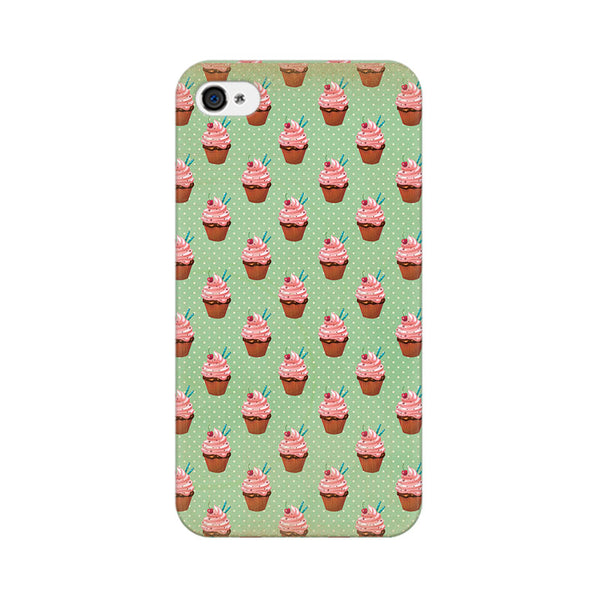 Small Cupcakes Apple iPhone 4 Mobile cover-Frequncy