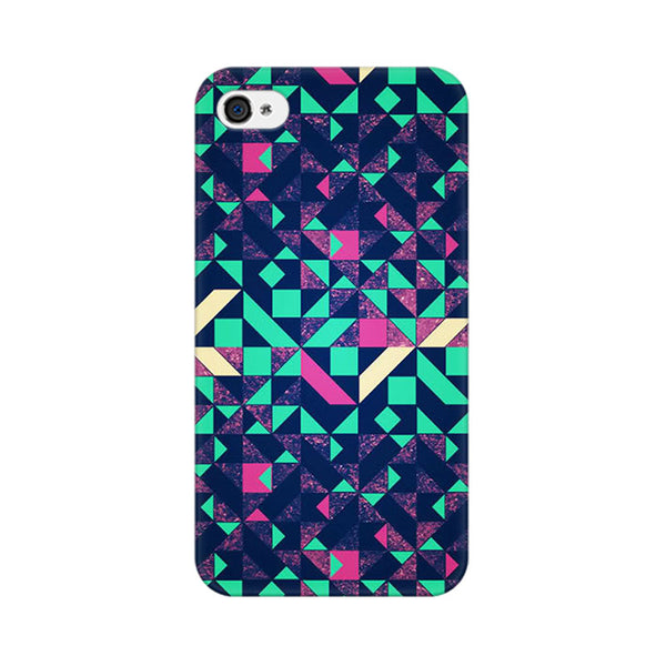 Abstract Wookmark Apple iPhone 4 Mobile cover-Frequncy