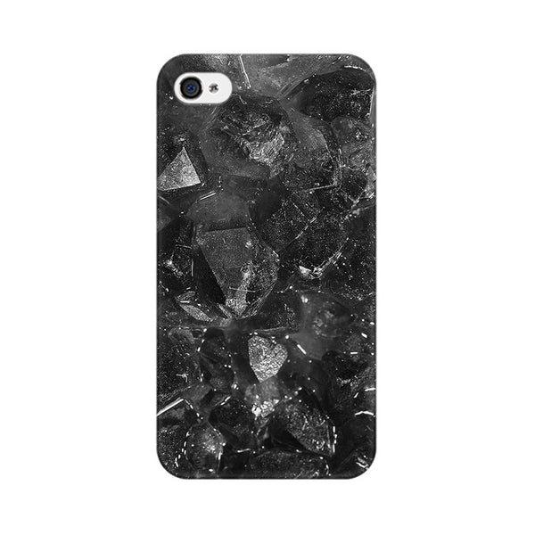 Dark Jewel Texture Apple iPhone 4 Mobile cover-Frequncy