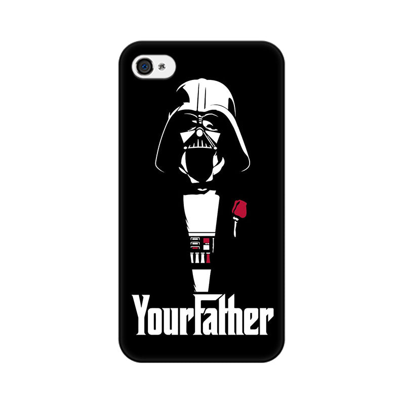 Your Father Apple iPhone 4 Mobile cover