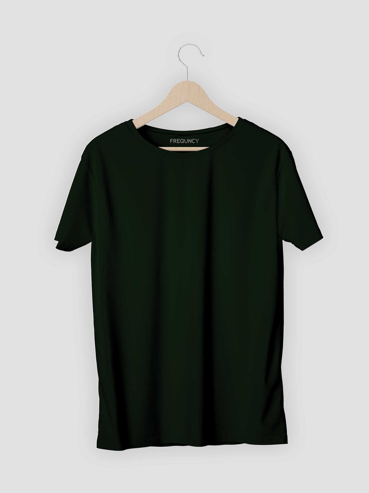 Olive Green Solids T-shirt
