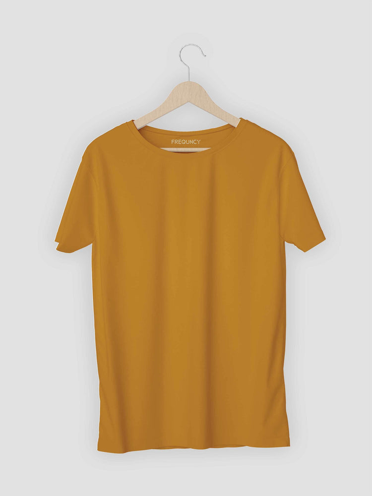 Yellow Solids T-shirt