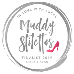 Muddy Stilettos Finalist 2019 Best newcomer in Bucks and Oxon