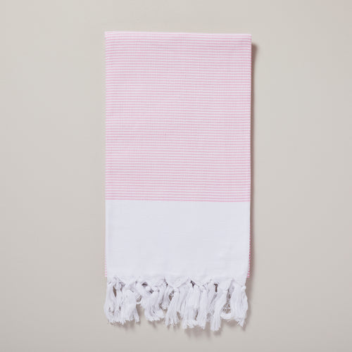 Bali, pink hammam towel/pestemal — Ordinary Luminary