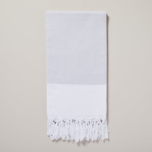 Bali, grey hammam towel/pestemal — Ordinary Luminary