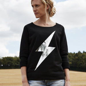 Lightning bolt premium sweatshirt for women — Ordinary Luminary