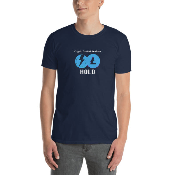 Crypto Capital Venture / Litecoin / Hold Short-Sleeve Unisex T-Shirt