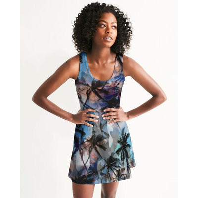 Women's Ancient City Fun and Flirty Casual Racerback Dress - Miraposa