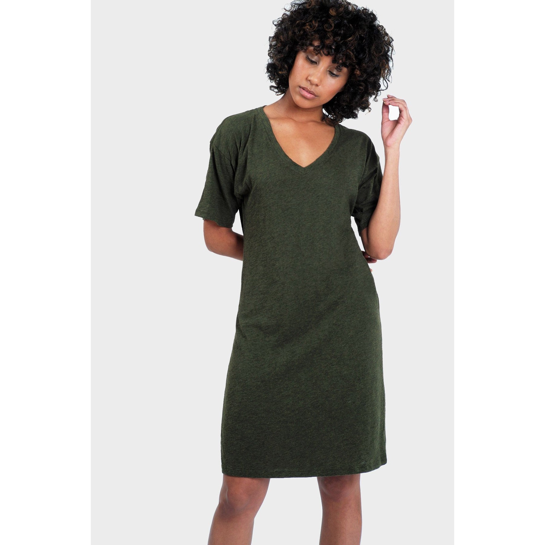 Mika T-Shirt Dress - Organic Cotton, Bamboo