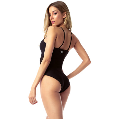 Freedom Black Bodysuit - Miraposa
