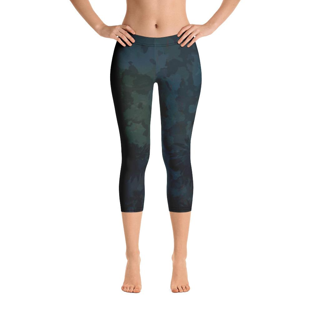 O.U.R. Outdoors Camo All Day Comfort Capri Leggings - Miraposa