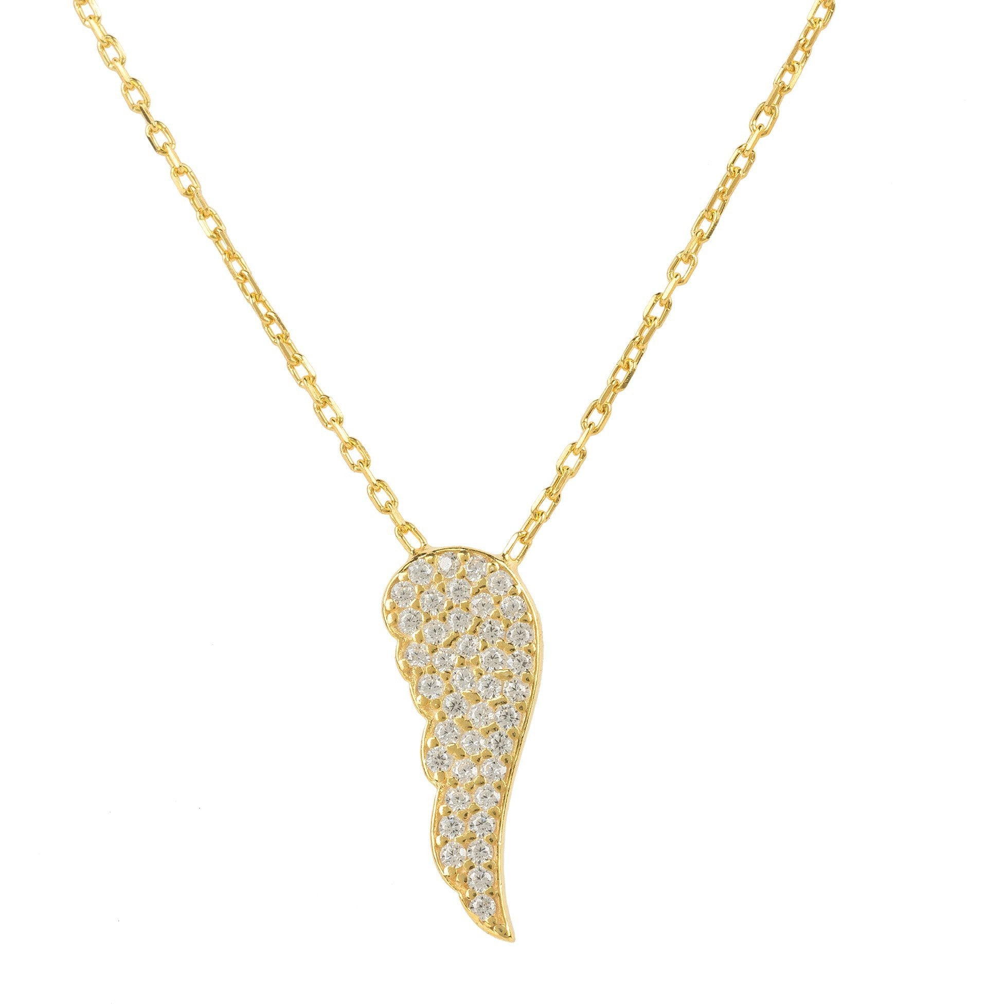 Angel Wing Necklace - Miraposa