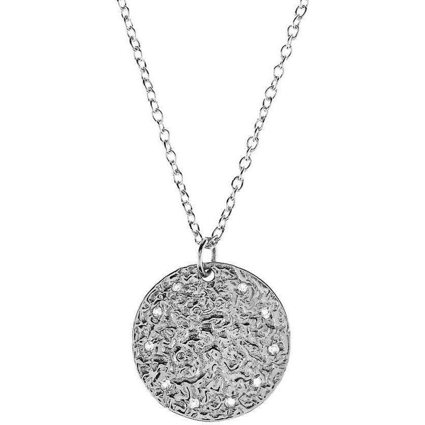 Full Moon Necklace - White Topaz - Miraposa