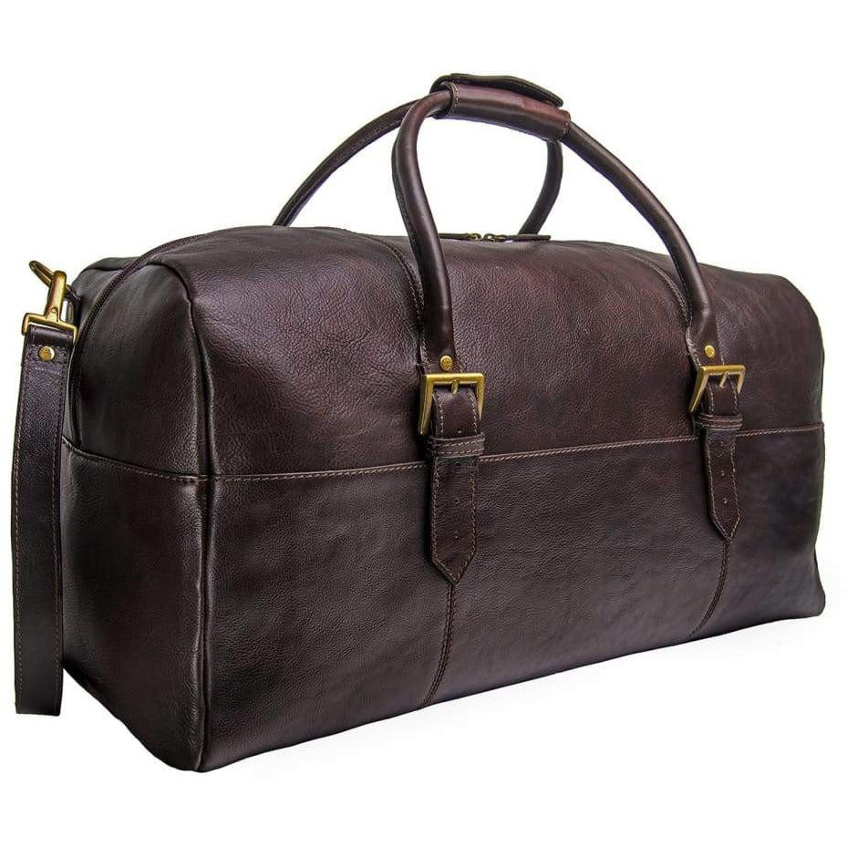 Cabin Leather Duffle Bag - Genuine Leather - Miraposa