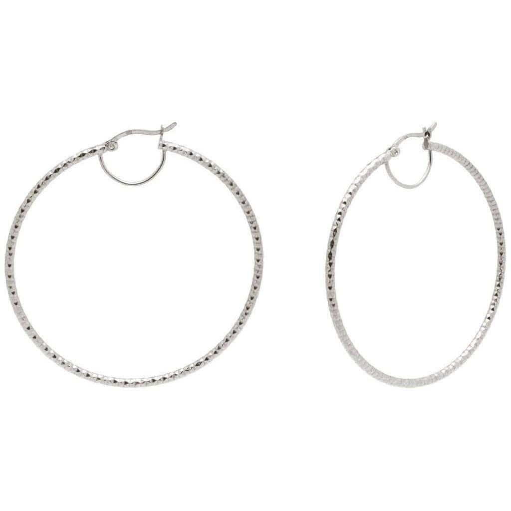 Miami Hoop Earrings - .925 Sterling Silver - Miraposa