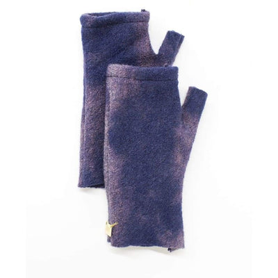 Mod Short Fingerless Gloves - Indigo - Miraposa