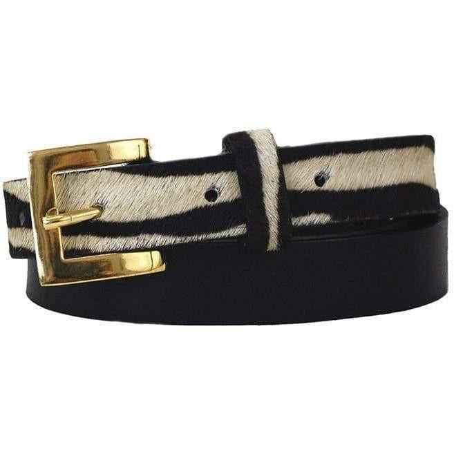 Sophia Leather Belt Black - Miraposa
