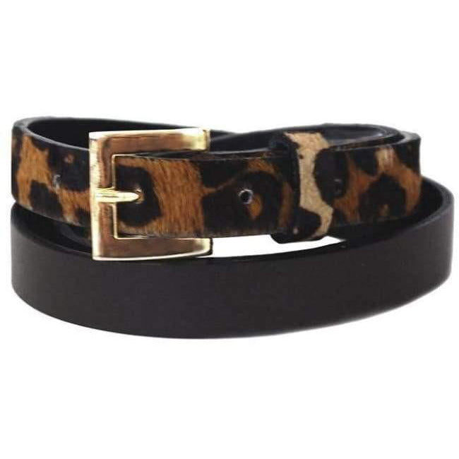 Sophia Leather Belt Brown - Miraposa