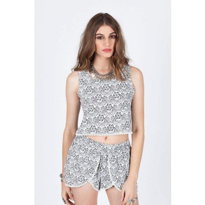 Sweet & Simple Crop Top - Miraposa