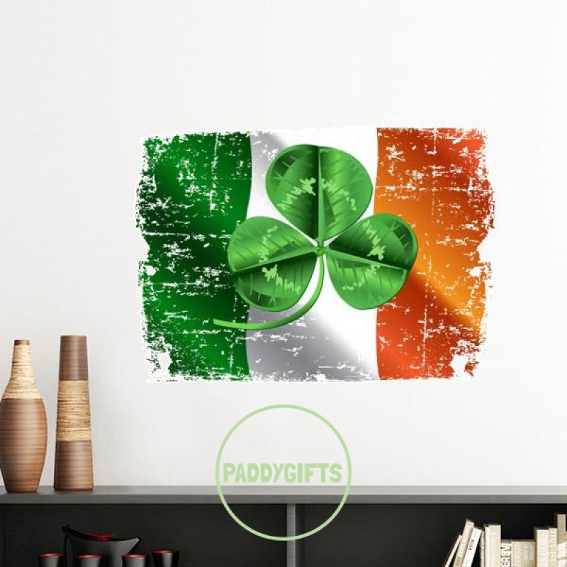 Ireland Shamrock Wall Sticker