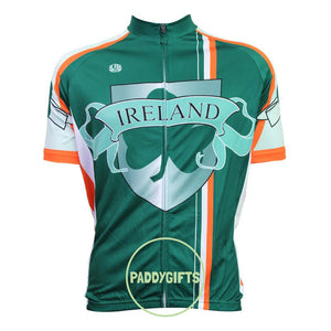 Cycle Jersey Green Ireland