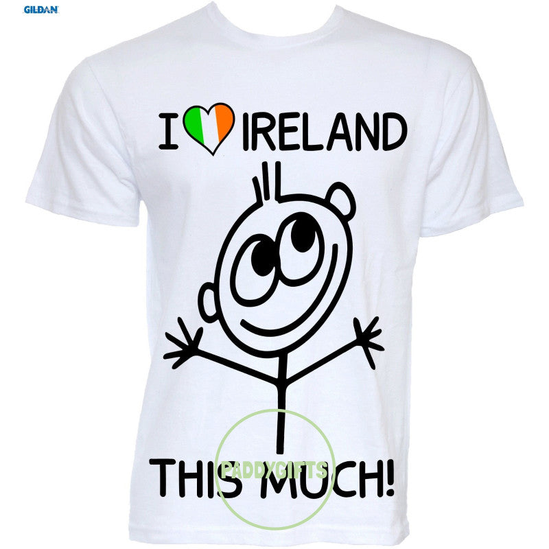 T-Shirt I Love Ireland This Much!