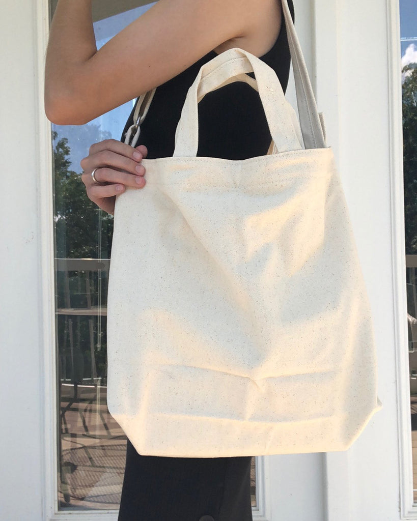 Baggu Horizontal Duck Bag in Natural Canvas