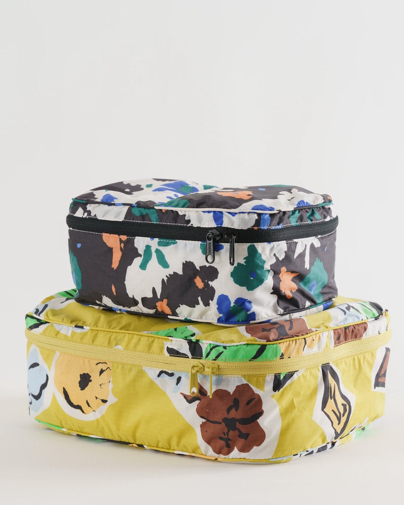 Baggu Storage Cube Set in Archive Florals