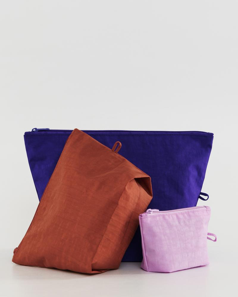 Baggu Go Pouch Set in Paint