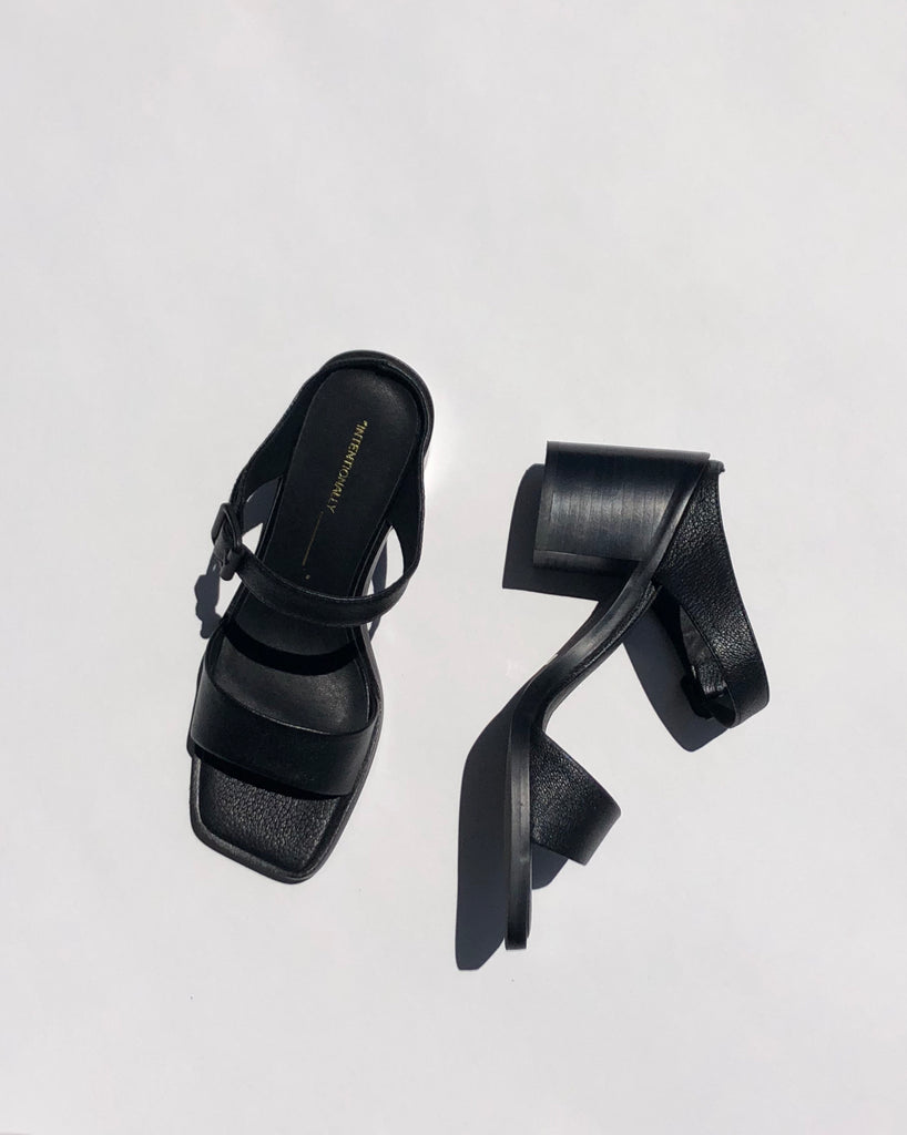 Intentionally Blank Impo Sandal in Black