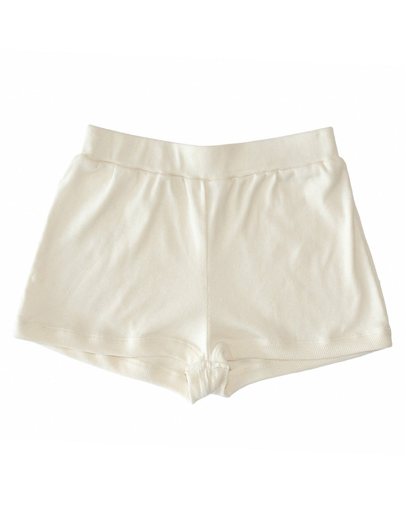 Botanica Workshop Robi Shorts in Natural - Organic Cotton