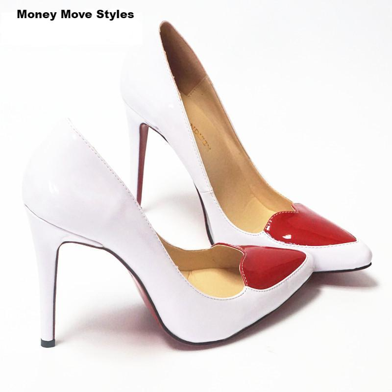 best sneakers c05ff a3b17 Luxury Whole Heart Red Pump Bottom Shoes