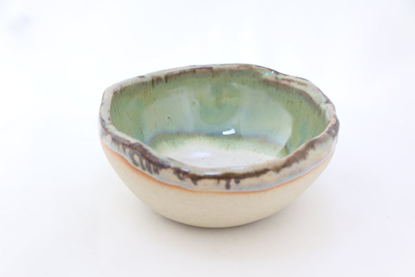 """Pandanus"" Ceramic Bowl Candle"