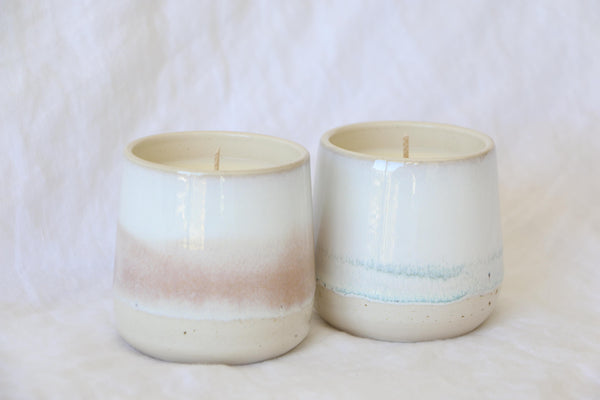 """Horizon"" Ceramic Tumbler Candle"